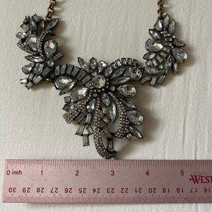 JCrew Chunky Crystal Statement Necklace